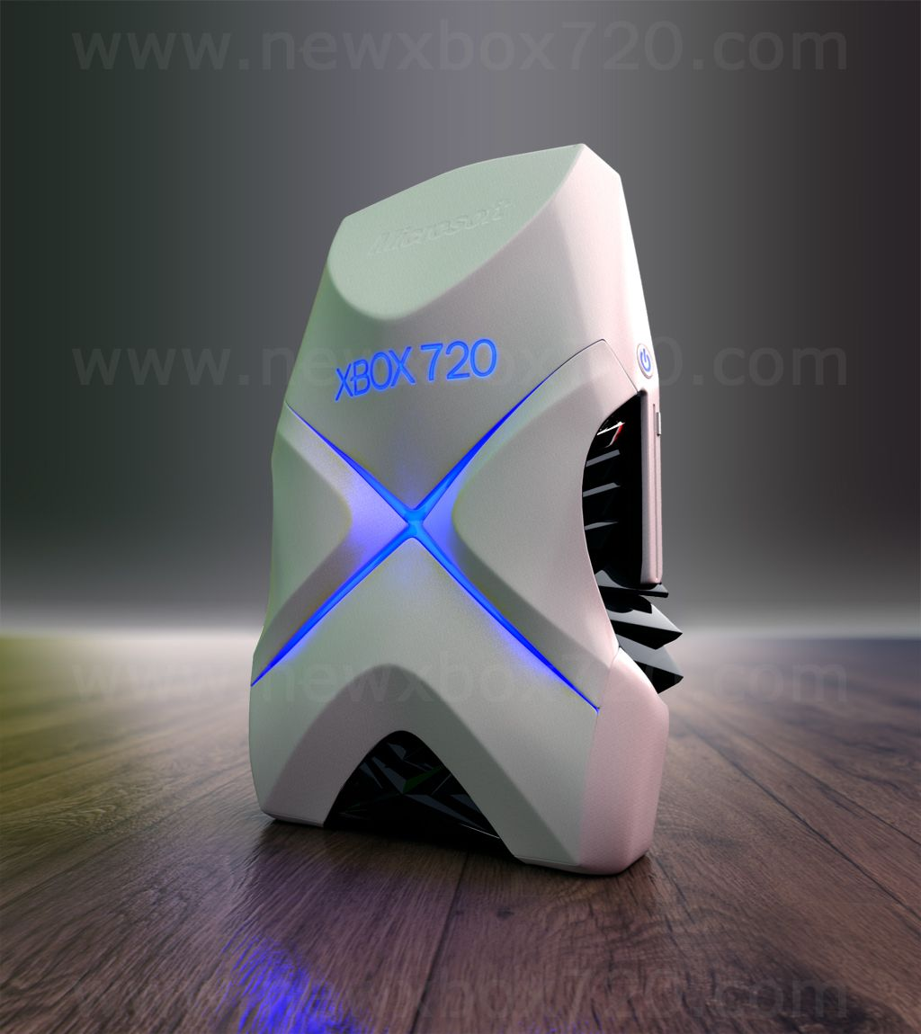 Console Design Xbox 720 Concept Design By David Hansson Front Of