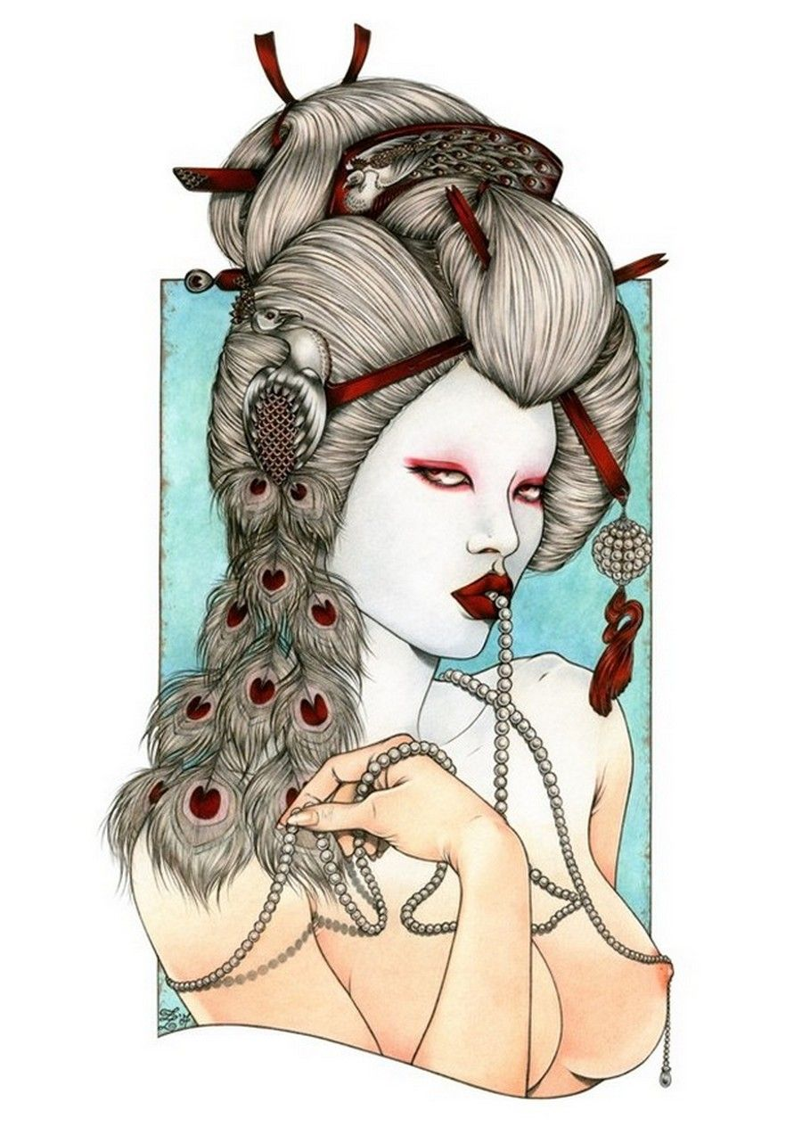 Zoe Lacchei — Geisha Project
