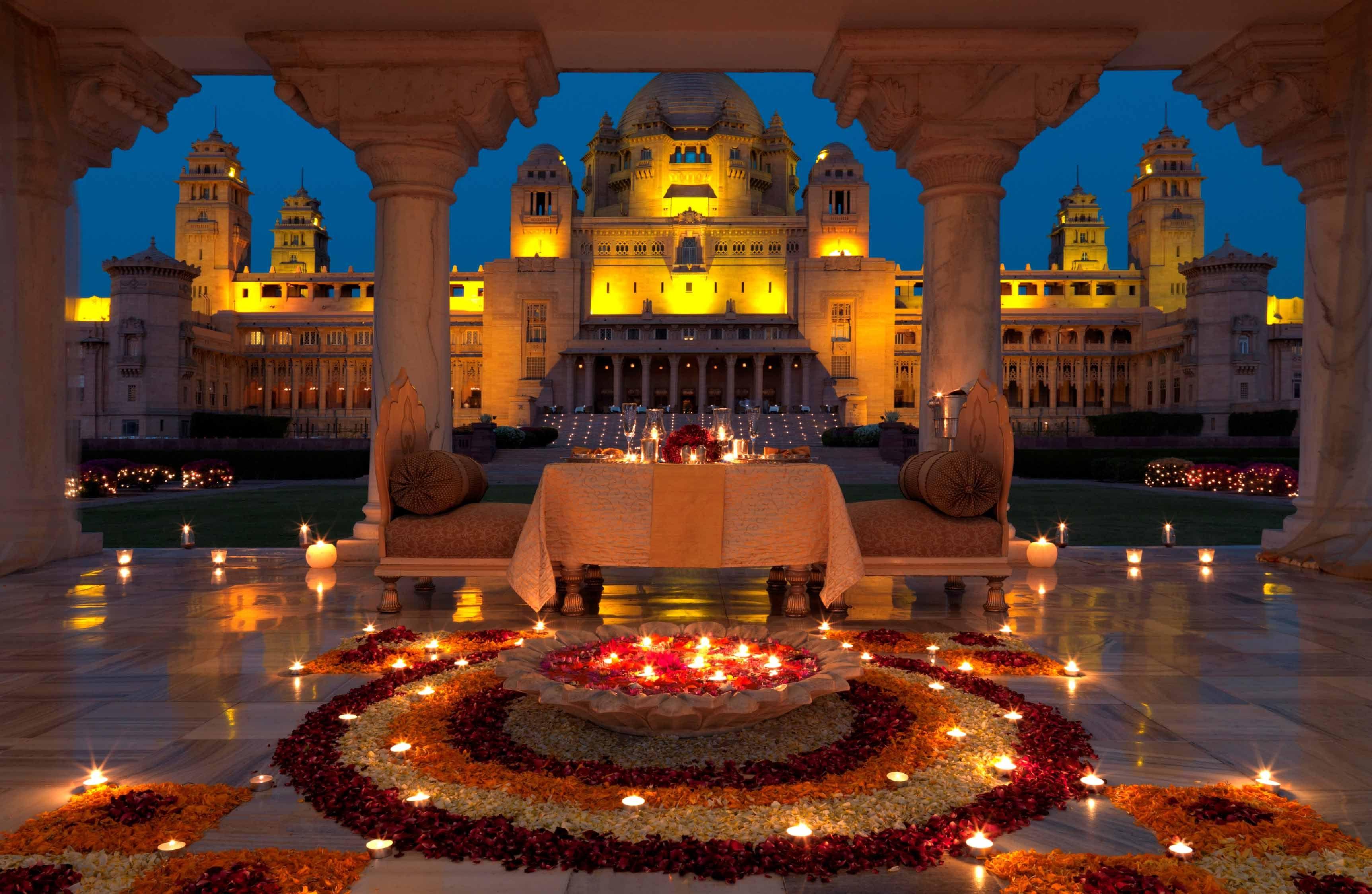 Very Beautiful Umaid Bhawan Palace Jodhpur, Rajashthan
