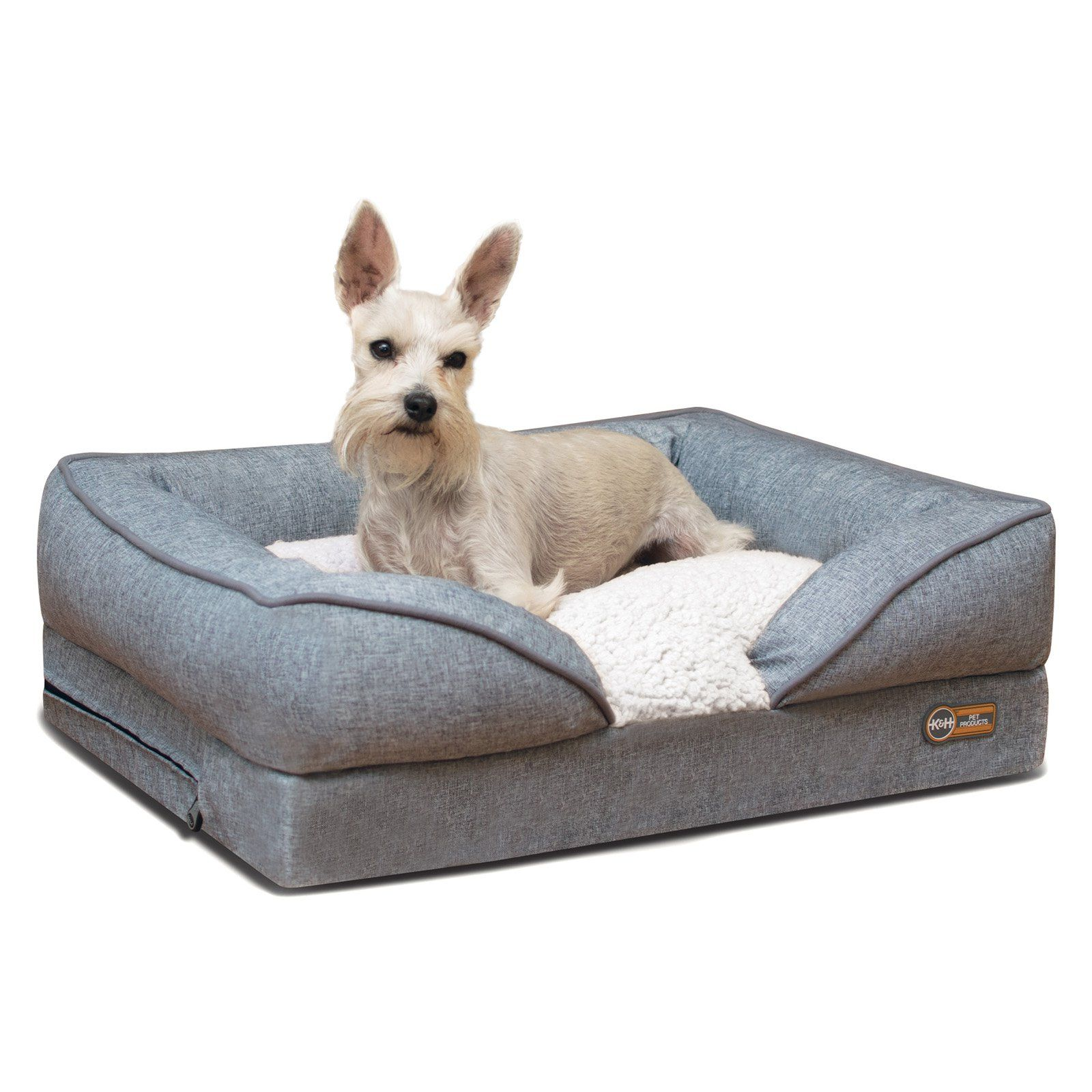 K H Pet Products Pillow Top Orthopedic Lounger Dog Bed Orthopedic Dog Bed Orthopedic Dog Pets