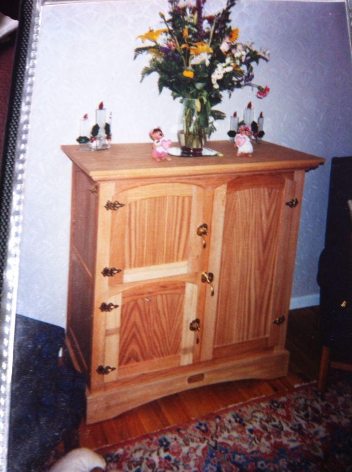 Home made old fashion ice box