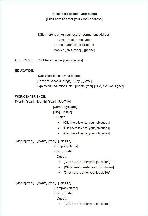 77 cool images of resume template 2018 australia