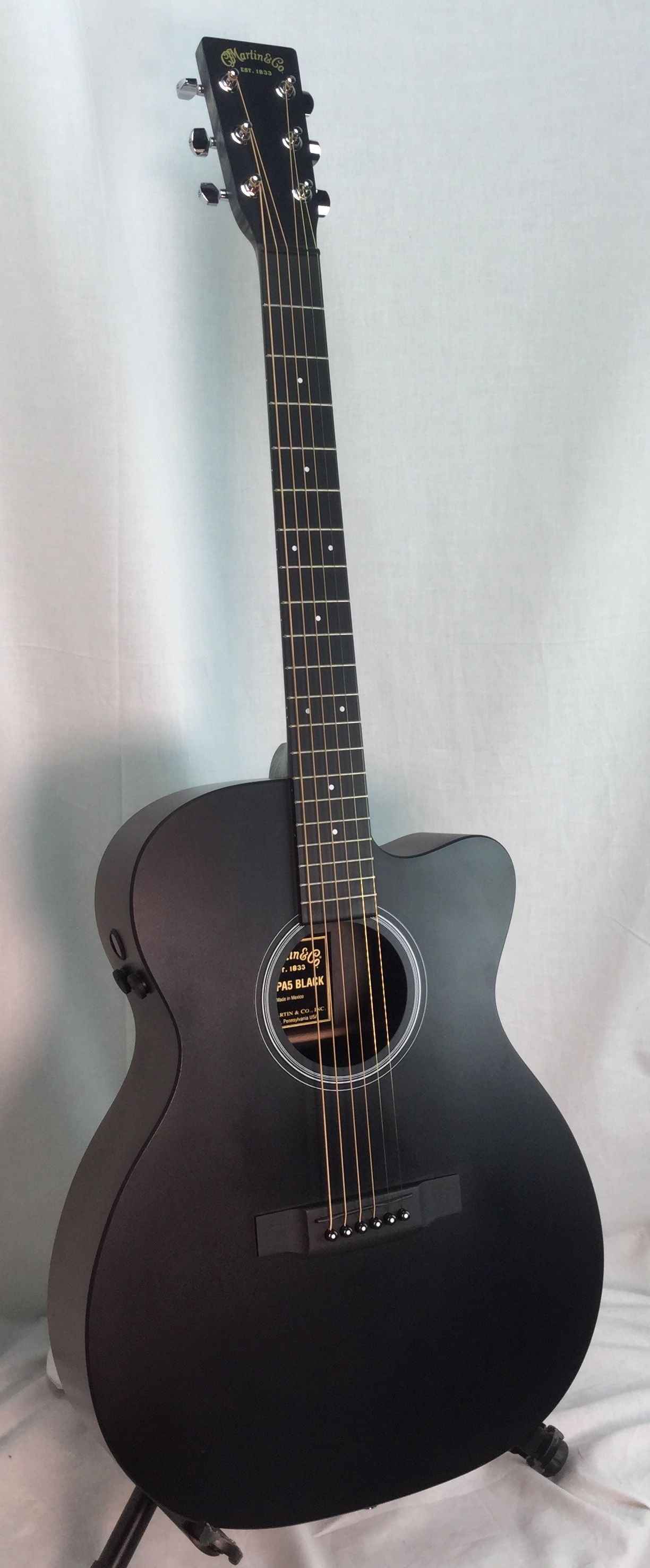 Martin Omcpa5 Black Westwood Music Tradition Since 1947 Acoustic Guitar For Sale Guitar Guitars For Sale