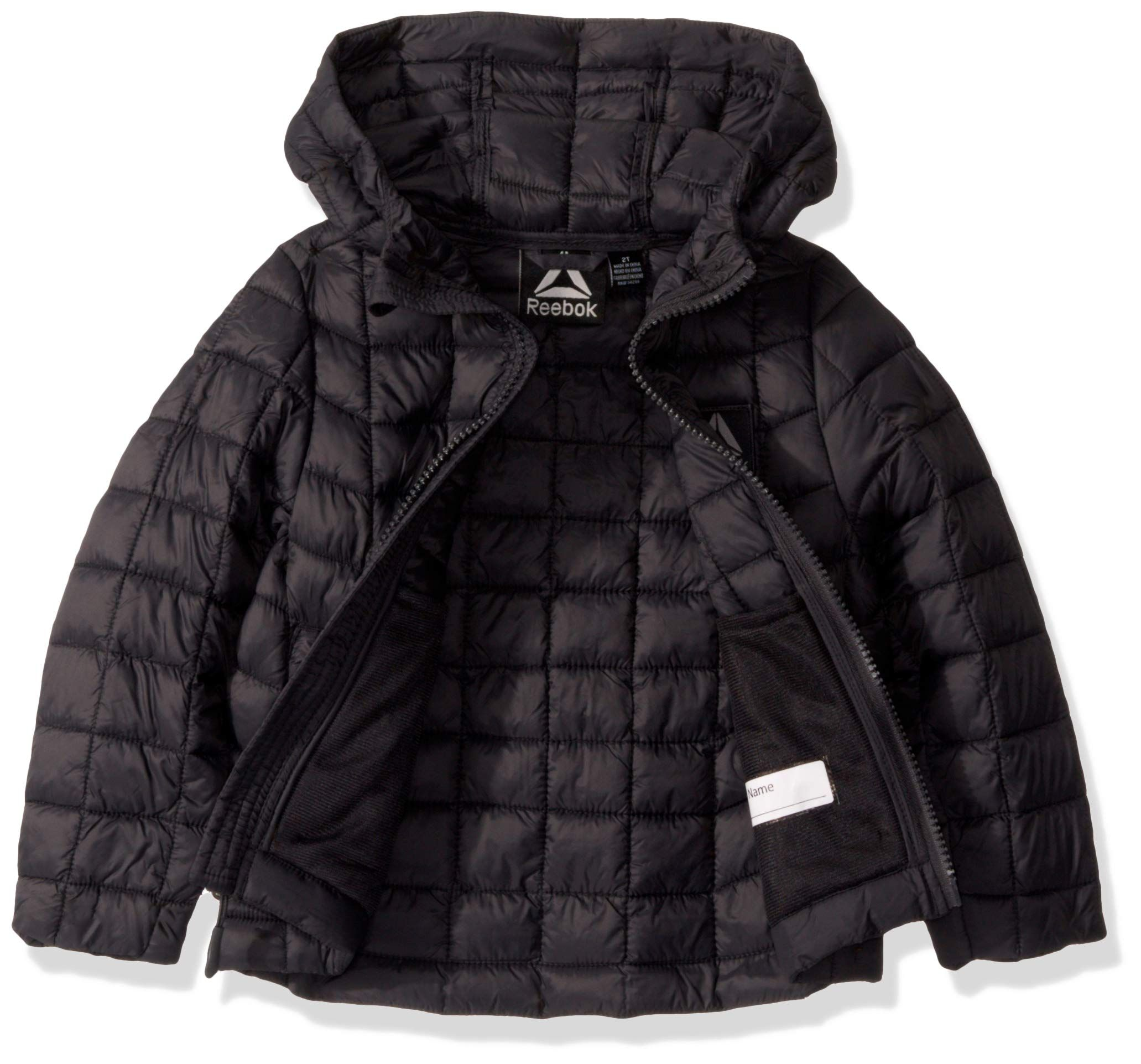 Reebok Boys Big Active Outerwear Jacket More Styles Available Hood And Quilted Charcoal 14 16 Want Additional Baby Girl Jackets Outerwear Jackets Boys [ 1923 x 2063 Pixel ]