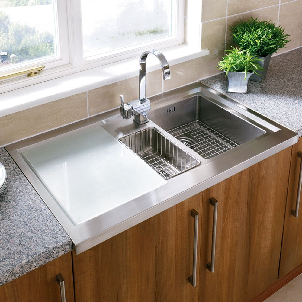 Image result for stainless steel sit on sink | kitchen ideas ...