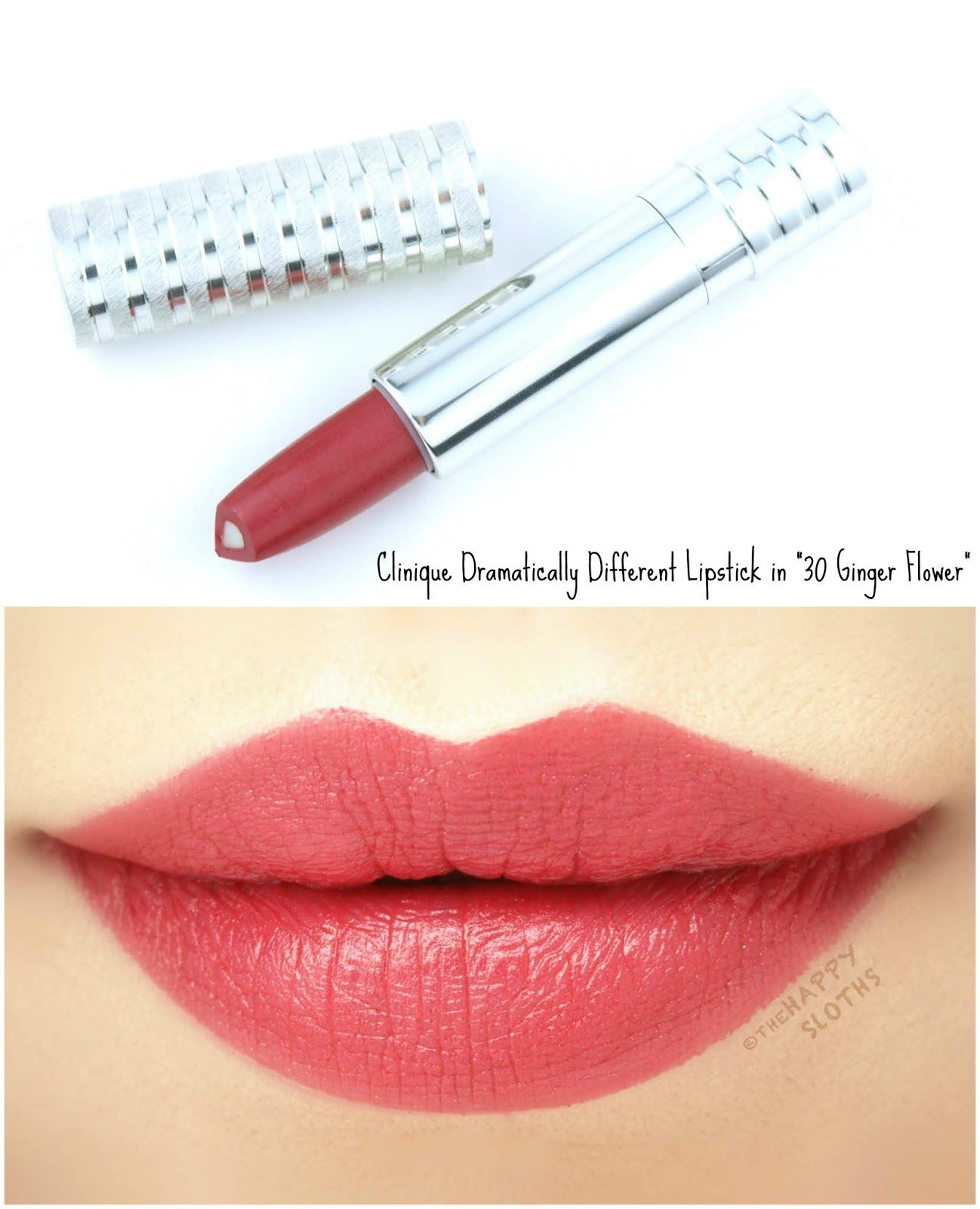 Clinique Dramatically Different Lipstick Shaping Lip Color Review And Swatches Lip Colors Lipstick Beauty Makeup