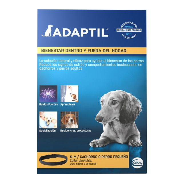 Photo of Collar antiestrés para cachorros y perros pequeños Adaptil