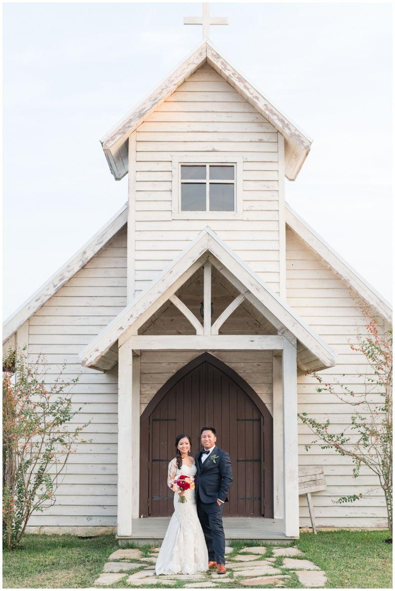 Little White Chapel Wedding Venue near Austin, Texas : Twisted