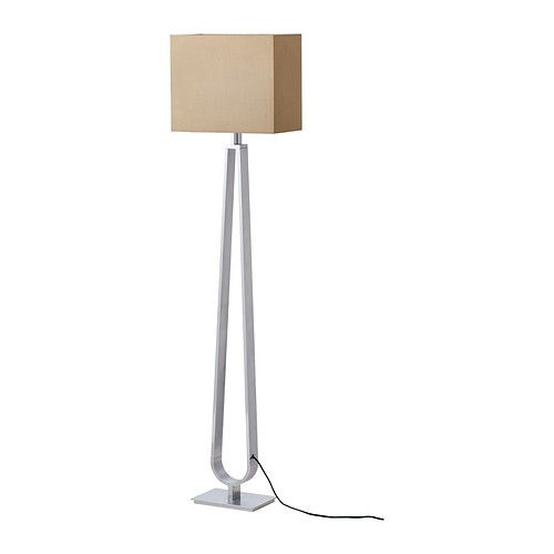 Ikea klabb floor lamp helps lower your electric bill because dimming the lights saves energy