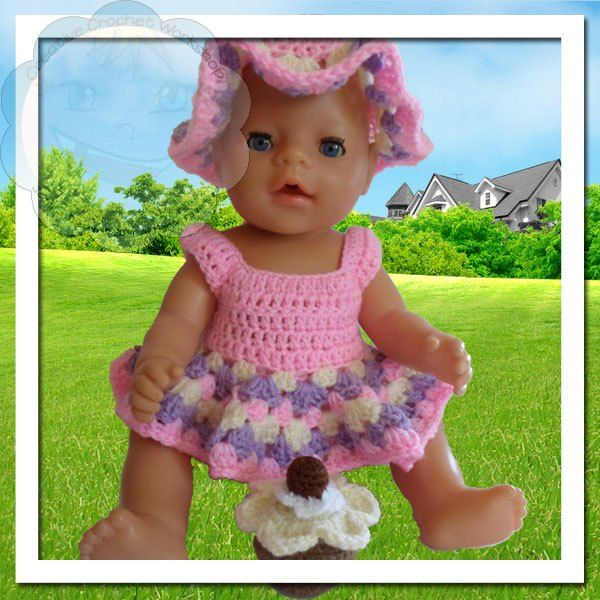 Jessica's Closet - Baby Doll Flower Set   Crissy's Doll Boutique #babydoll