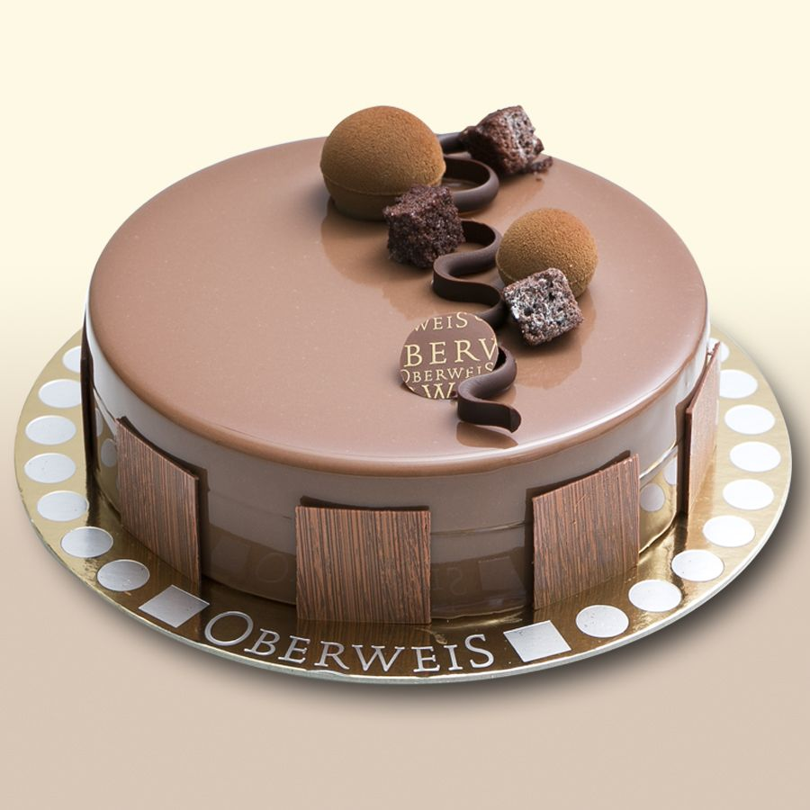 Entremet chocolat patisserie pinterest entremet for Decoration gateau nouvel an