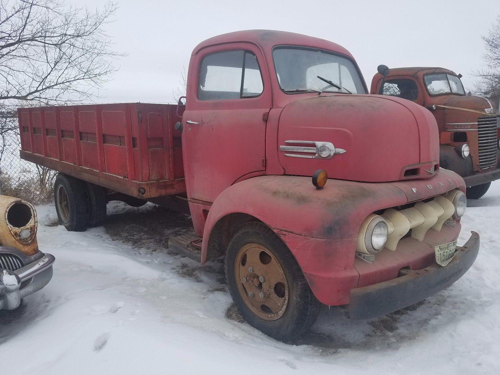 Hot Rod Hauler Potential 1952 Ford COE Trucks