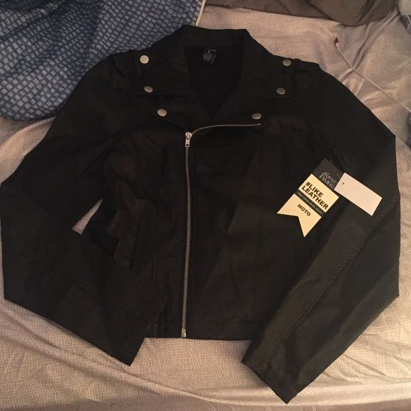 5639db1a580532 SALE NWT Almost Famous Moto Jacket NWT !!!! Almost famous Moto jacket in  BLACK !! Size large !! Offers welcome Almost Famous Jackets   Coats Utility  Jackets