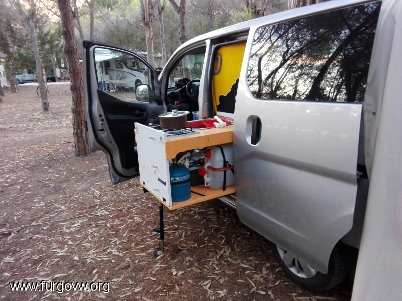 nissan nv200 angelita evalia camper nissan camper y. Black Bedroom Furniture Sets. Home Design Ideas