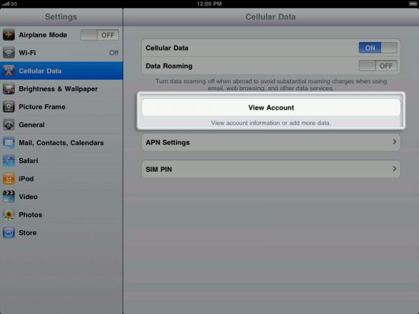 How To Use Cellular Data On iPad Mini - P^i Use Cellular