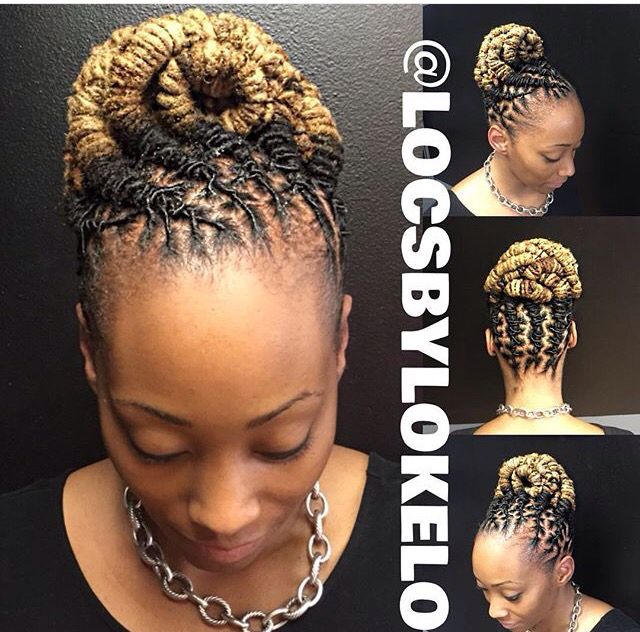 Pin By Lisette Brown On Loc Inspiration Locs Hairstyles Hair Styles Natural Hair Styles