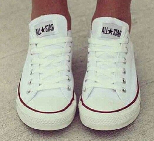Must have ~ white convers