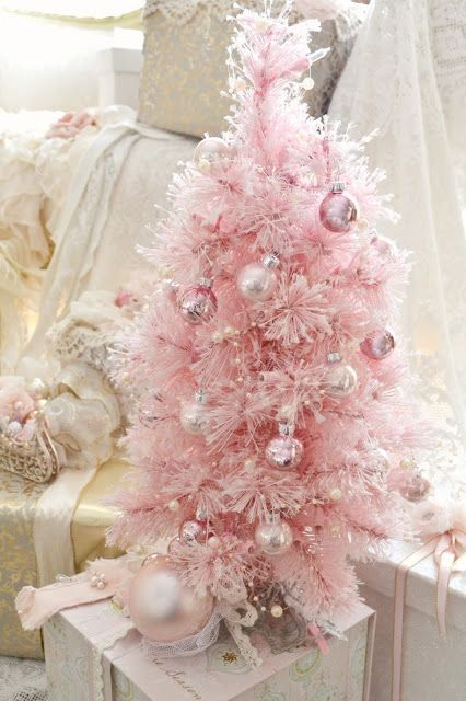 Top 40 Beautiful Pink Christmas Treeswhen Christmas Starts Knocking The Door We Star Pink Christmas Decorations Pink Christmas Pink Christmas Tree Decorations