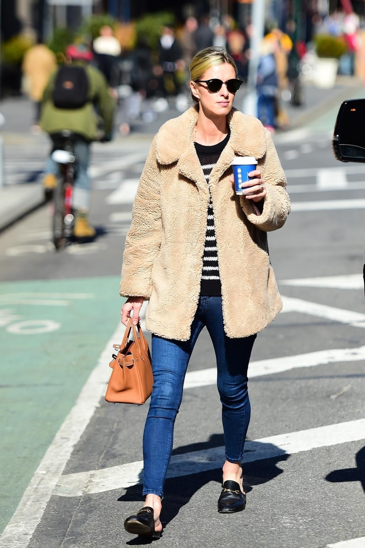 Nicky Hilton wearing Gucci Princetown Slippers ed5687ad72c2e