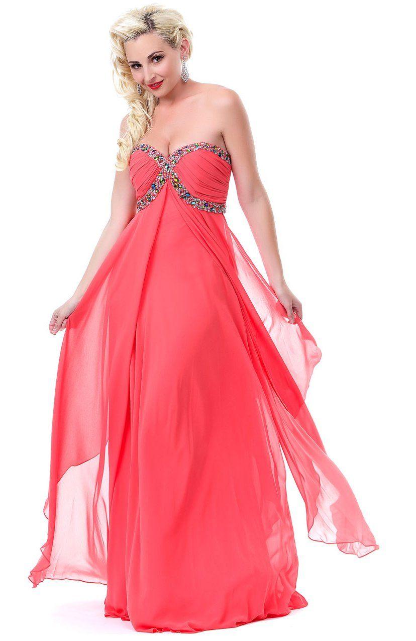 Winter Formal Dresses Long Strapless