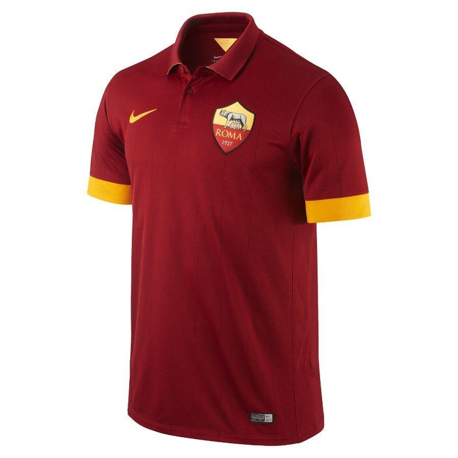 Nike Roma Home Jersey 14 15 Soccer Uniforms Soccer Jersey Soccer Shirts