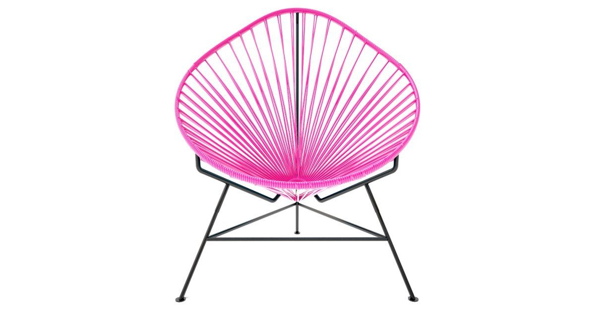 Scaled down for kids, this Acapulco chair will be a cool place for kids to relax and read, indoors or out.Paul Yacht founded Innit in 2002 after working as a set designer in Toronto. All of the...