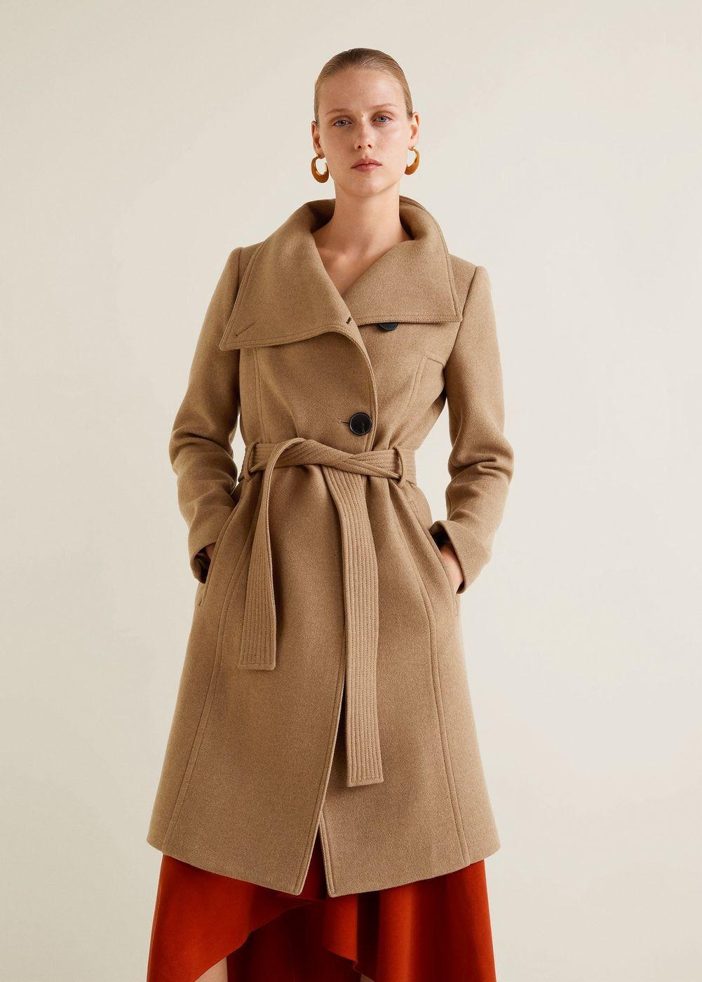 6b5aa1ed Belted wool coat - Women | If my closet had style... | Wool coat ...