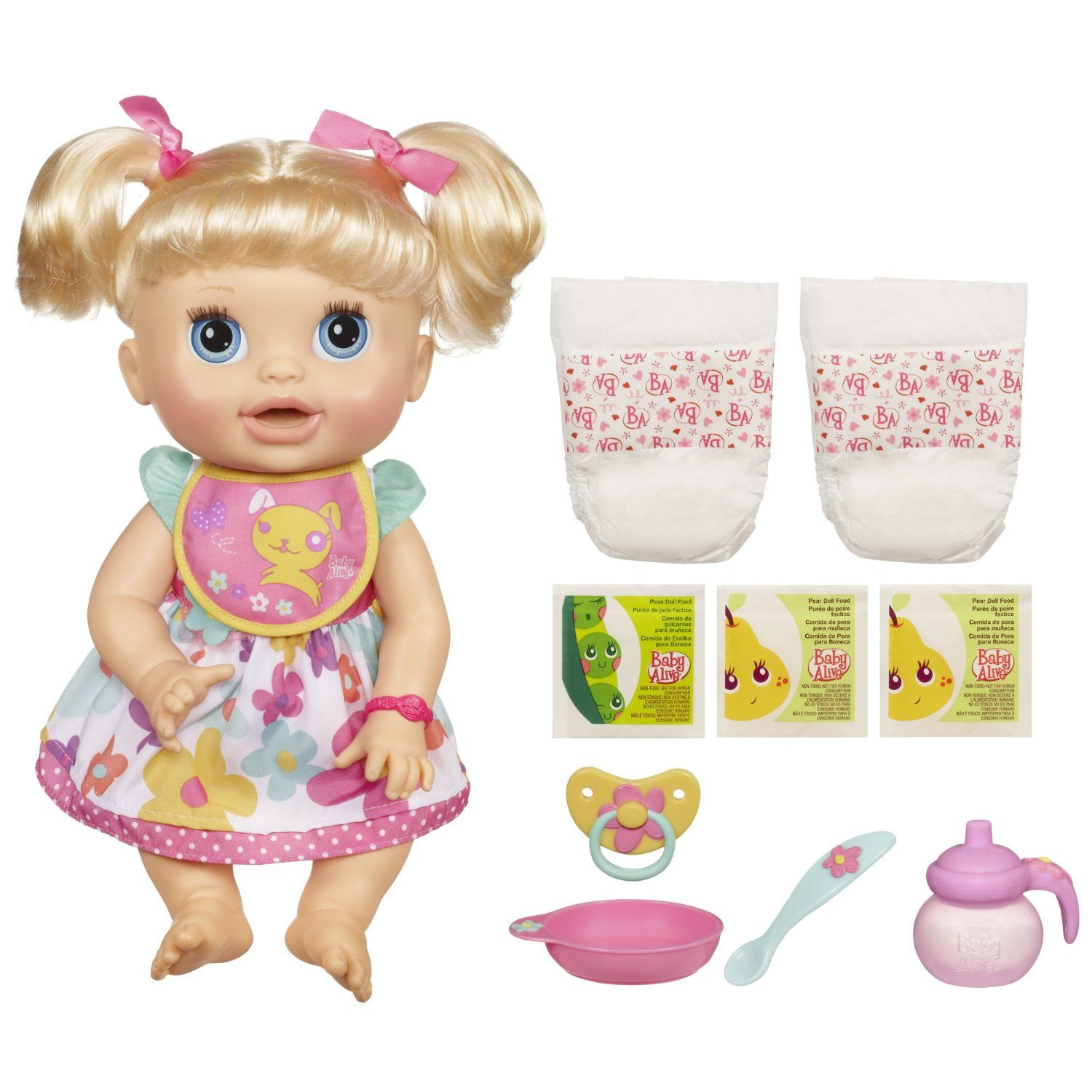 Baby Alive Real Surprises Baby Doll Doll speaks English or Spanish