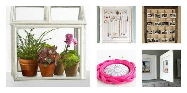 22 DIY Craft Projects To Repurpose Old Picture Frames