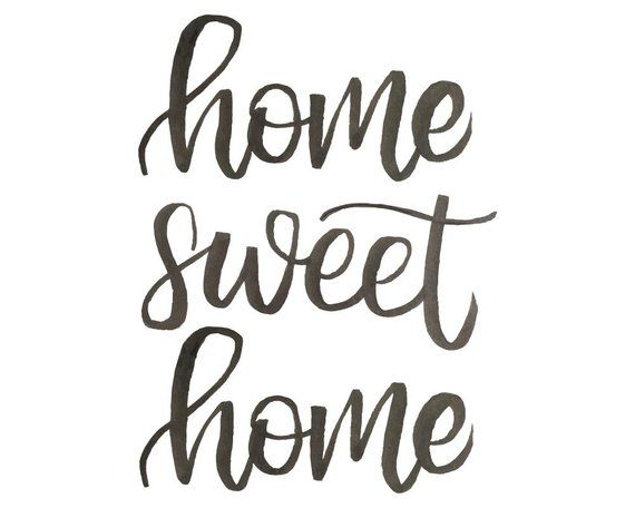 home sweet home sign rustic decor farmhouse wall decor printable decor foyer decor on farmhouse kitchen quotes free printable id=85085