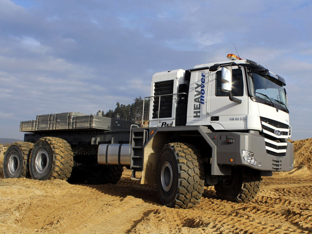 Semitrckn Paul Prime Mover 6x6 Big Trucks Heavy Duty Trucks Offroad Trucks