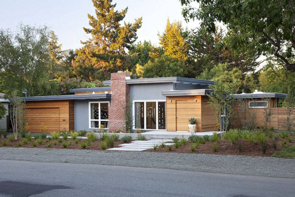 10 The Most Favorite Mid Century Modern Exterior Home Design Mid