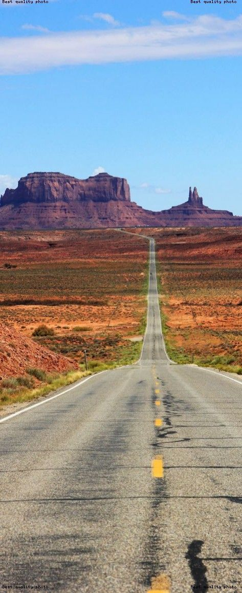 famous highway into monument valley utah usa 23 roads you have to drive in #utahusa Famous Highway into Monument Valley, Utah, USA.   |    23 Roads you Have to Drive in Your Lifetime #utahusa