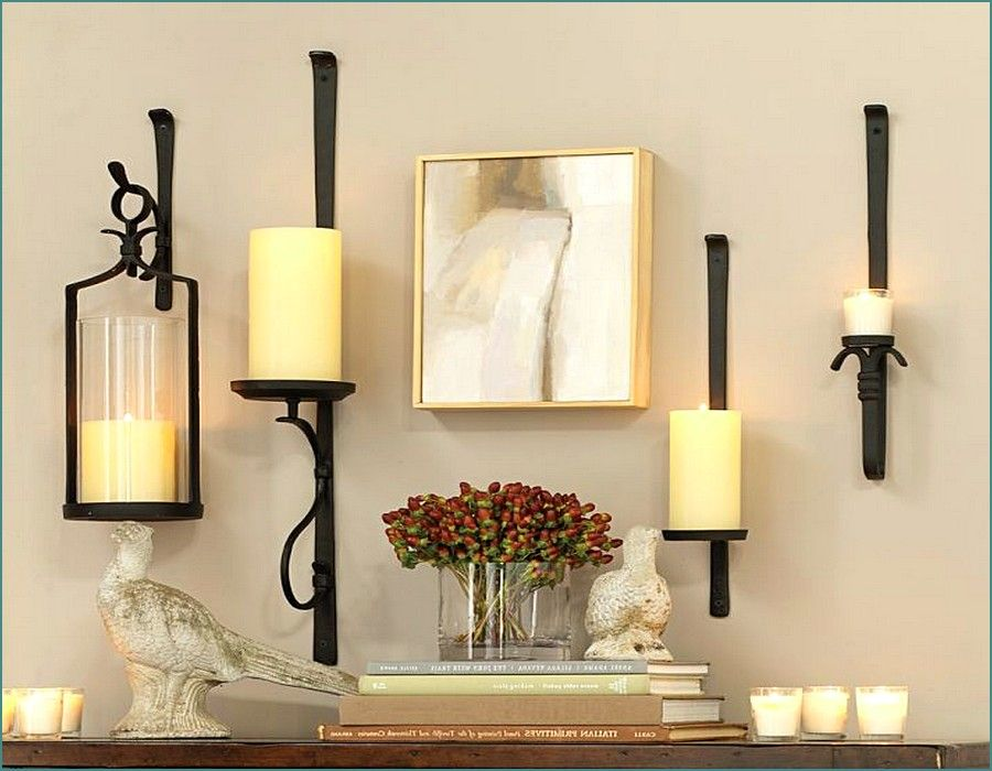 Candle Wall Sconces Pottery Barn Ideas Candle Wall Sconces