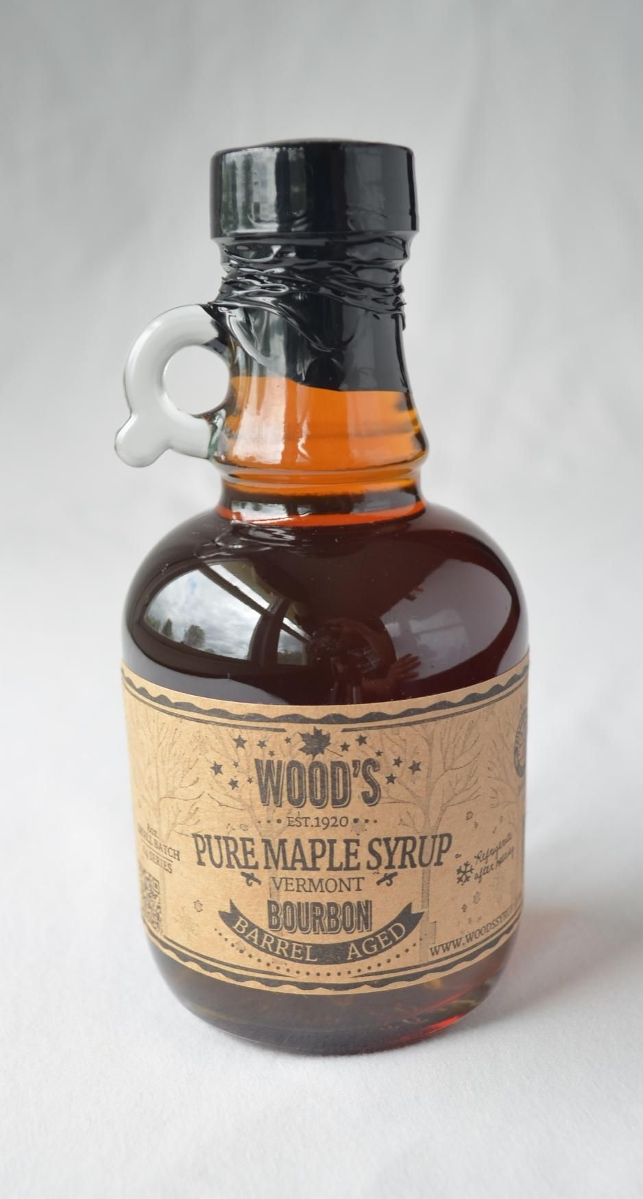 Bourbon barrel aged syrup bourbon barrel syrup bottle