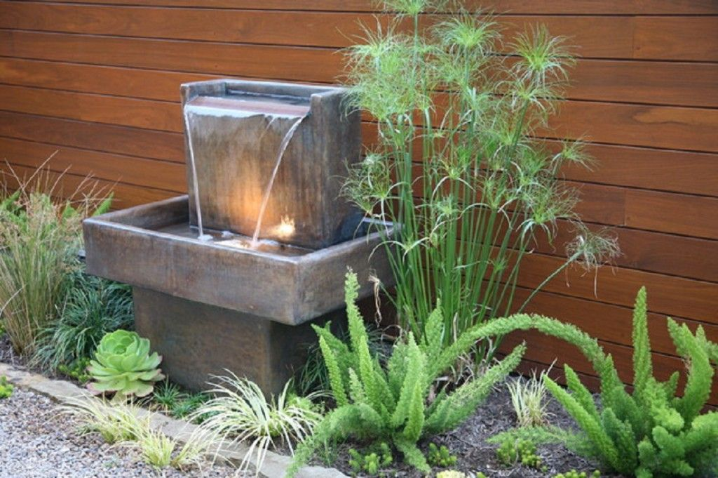Dazzling Small Garden Fountains Beautiful Decoration