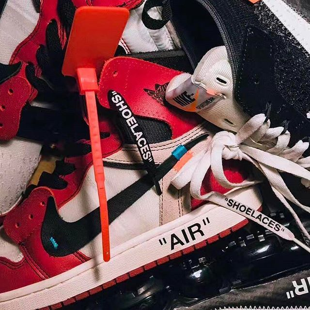 Word is that the Off-White Air Jordan 1s are releasing on September 1!  : @icefuckingfire  via SNEAKER FREAKER MAGAZINE OFFICIAL INSTAGRAM - Fashion  Advertising  Culture  Beauty  Editorial Photography  Magazine Covers  Supermodels  Runway Models