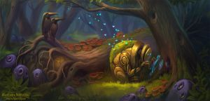 Progamming of the forest by Sedeptra