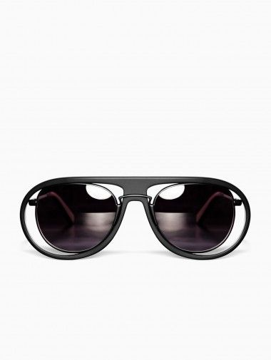 af49c2537c7c Rimmed sunglasses from Kuboraum collection. | eye wear