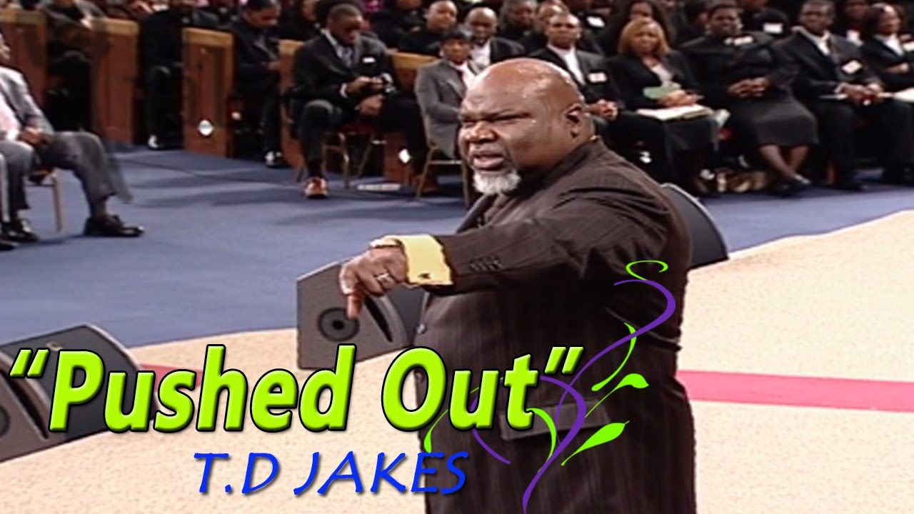 T.D Jakes Sermons Pushed Out & It's Not What It Looks