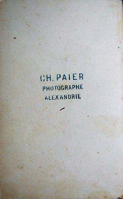 Back Of Carte De Visite Kristijan Pajer