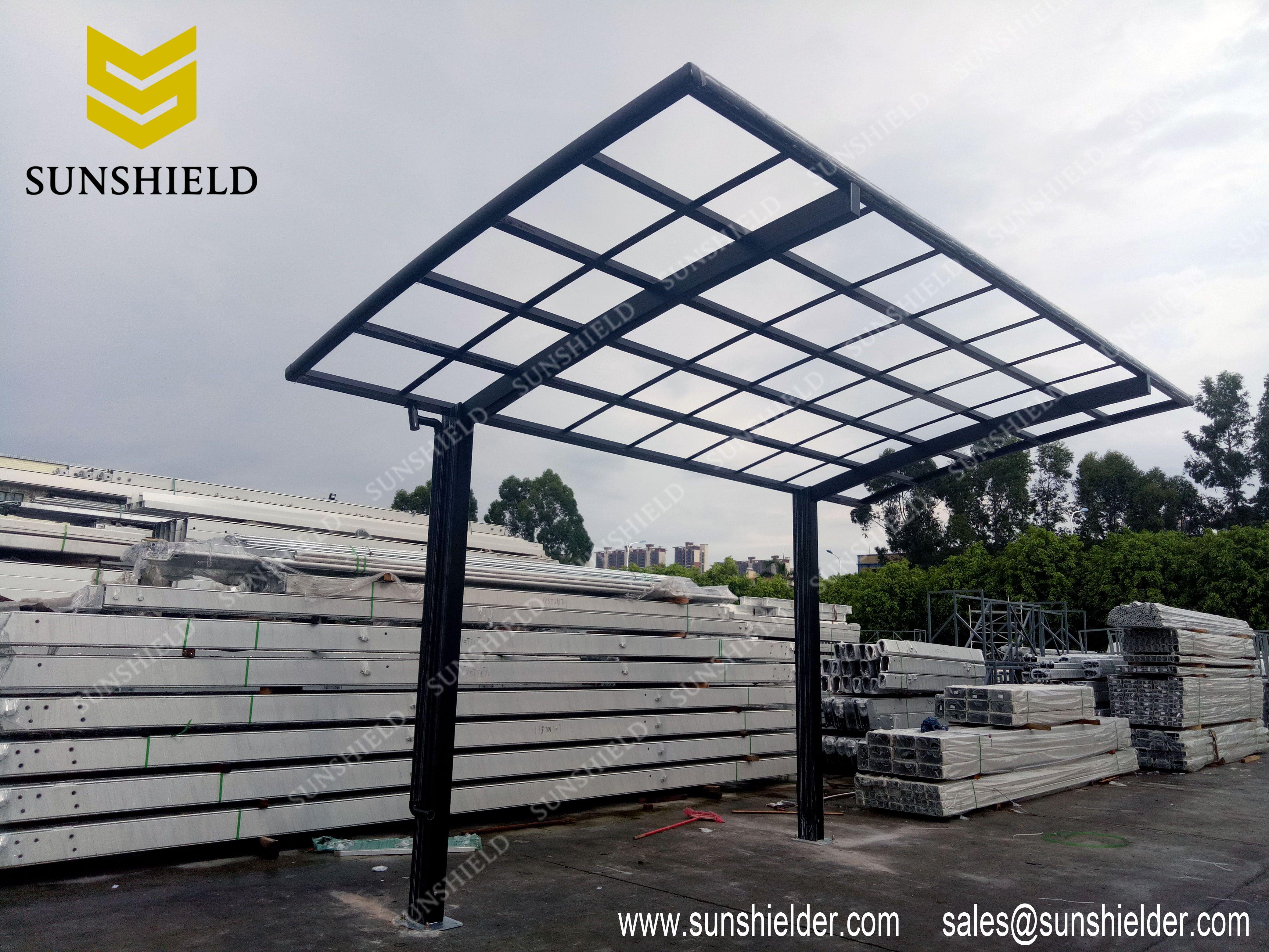 Retractable Sun Room Carport Aluminum Carport Patio Enclosures