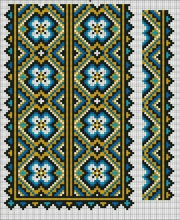 Pin de Ola_Suprun en вишивка | Pinterest | Punto cruz, Bordado y Puntos