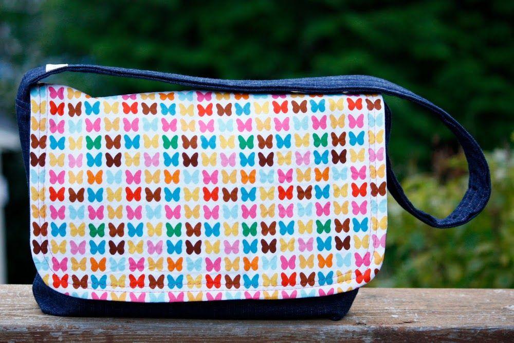 Modern Messenger Bag Tutorial | Sewing Patterns & Tutorials ...