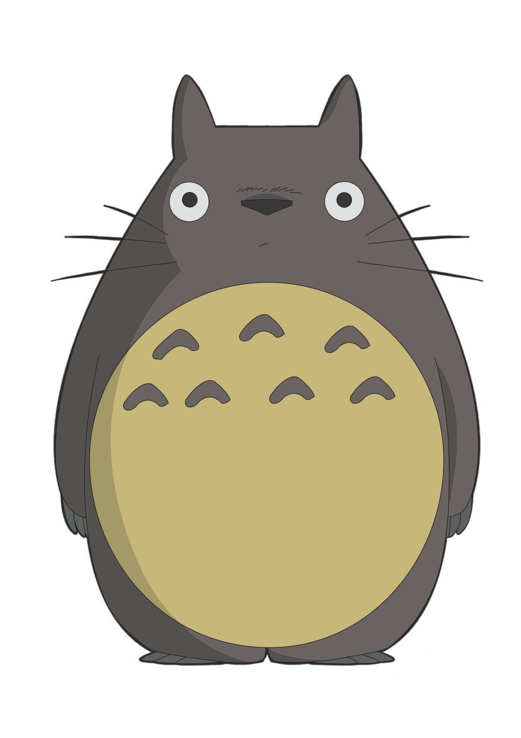 Pin Totoro Outline picture to pinterest. Description from tattoopins ...