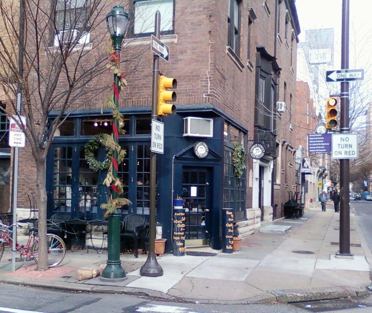 Spruce St. Espresso, on my corner