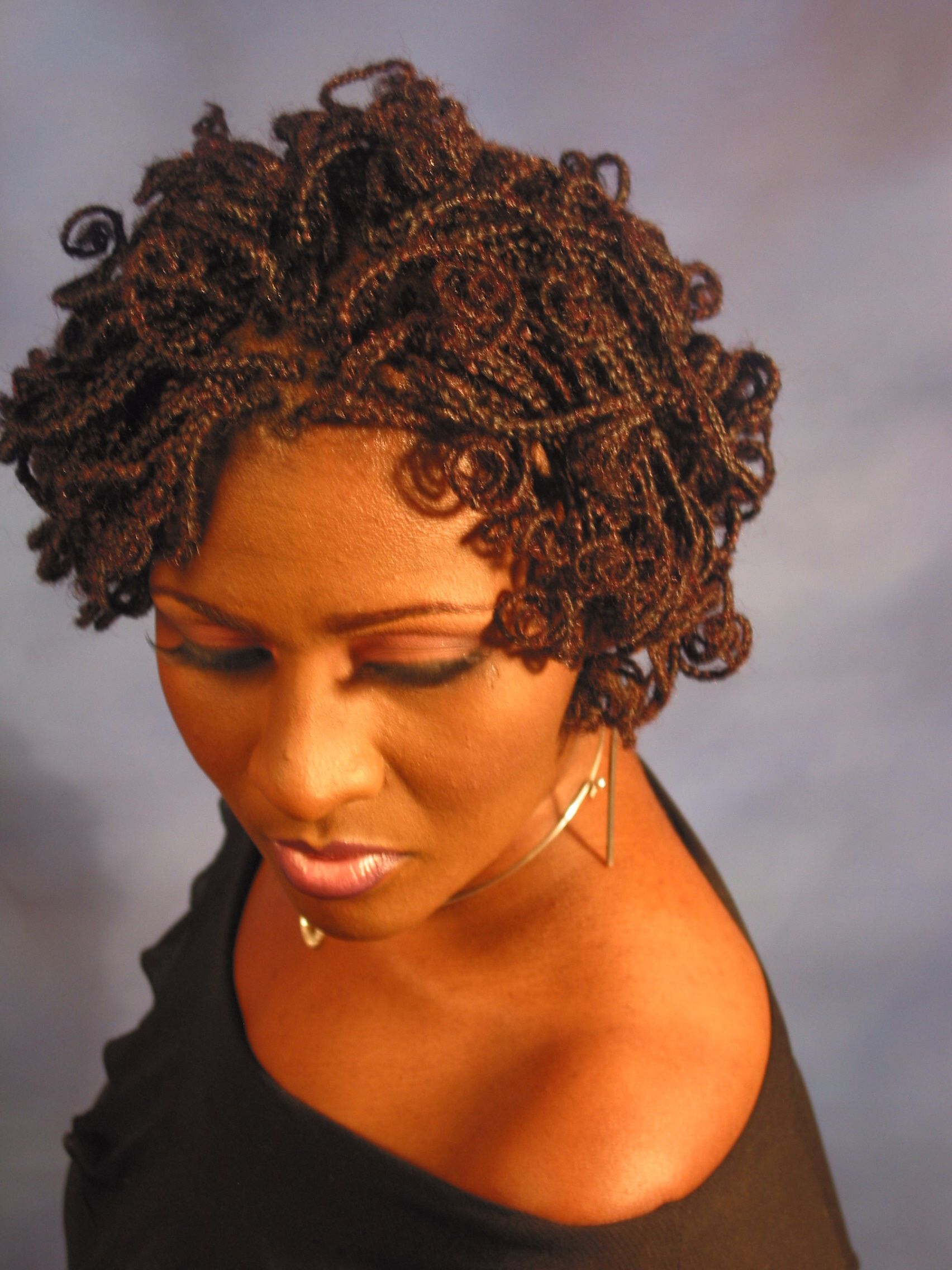 Coil Braids African American