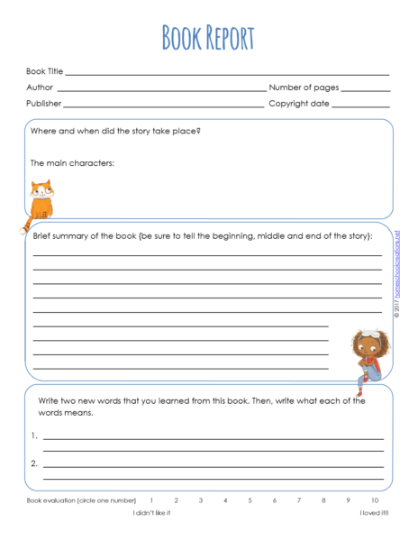 image about Free Printable Lab Report Template identify Ebook Article Varieties - Cost-free Printable Looking at and Crafting