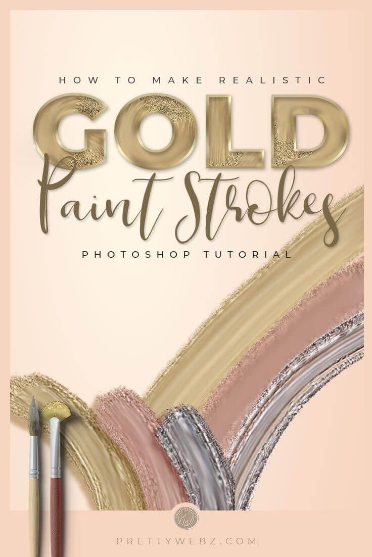 So erstellen Sie goldene Texteffekte in Photoshop
