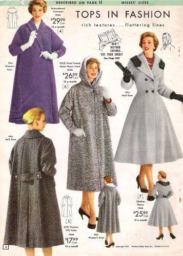1950s Coats And Jackets History Vintage Coat 1950s